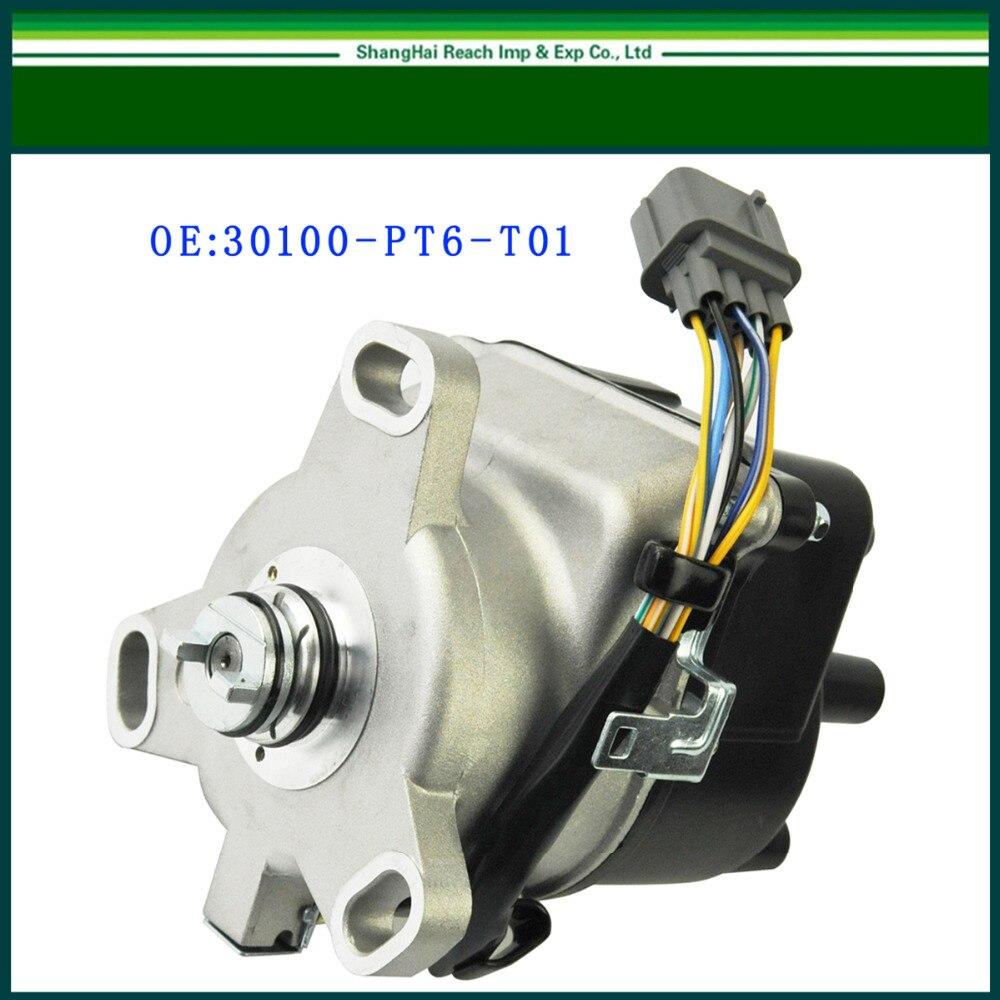 New ignition distributor for honda 1999 2001 cr v crv 2 0l dohc oe