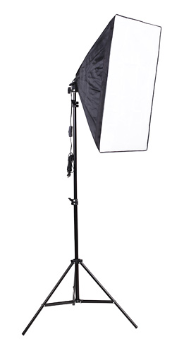 ФОТО Lightupfoto Professional Portable 50cm x 70cm Photo Studio softbox with Studio Photography 200cm light stand kit PSK15-US