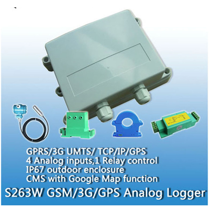 King Pigeon S263 Free Shipping GSM GPRS Alarm Data Logger Outdoor 3G SMS Relay Control Remote Temperature Monitor GPS s265 direct factory gsm sms gprs 3g 4g temperature