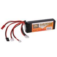 ZOP Power 11 1V 2200MAH 8C Lipo Battery For DEVO 10 DEVO 7 DEVO F12E JR