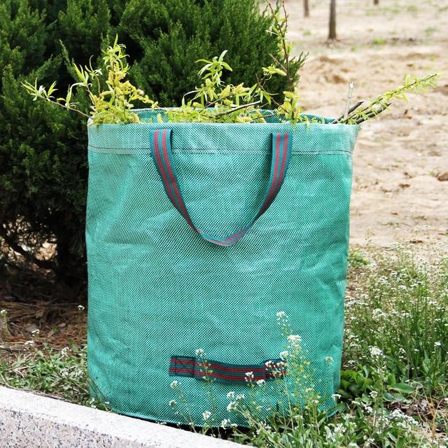 Gardzen 3 Pack Garden Bag Reuseable Heavy Duty Gardening Bags Lawn Pool
