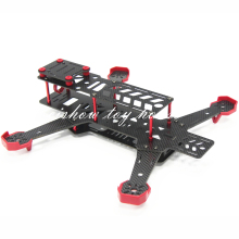 DALRC RC DIY FPV Mini Drones Race Quadcopter DL265 Carbon Fiber Frame Unassembled Support 1806 2204 Motor 12A ESC