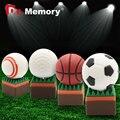 Usb flash drive 64 г флэш-накопитель 32 г флешки 16 г 8 г 4 г Горячие Продажи мяч для гольфа баскетбол теннисный мяч pendrive Usb