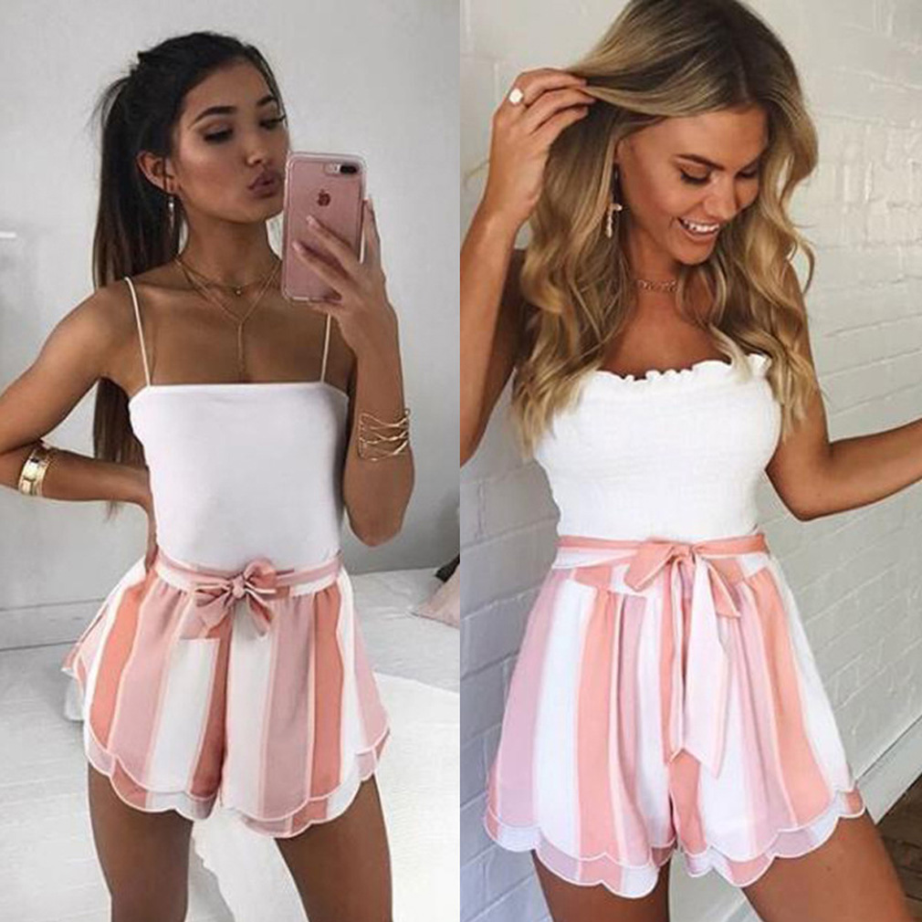 ae9f43a922a61 US $5.77 15% OFF|Aliexpress.com : Buy 2019 Thefound New Fashion Women  Summer Stylish Loose Shorts Bow High Waist Short Trousers from Reliable  Shorts ...