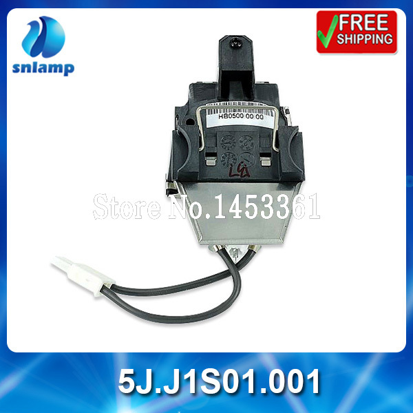 ФОТО 5J.J1S01.001 Compatible replacement  projector lamp bulb 5J.J1S01.001  for W100 MP620P MP610 MP610-B5A  MP615