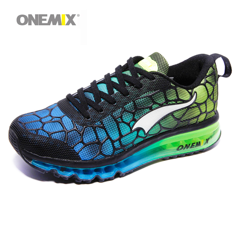 Hot onemix 2017 Men Air Running Shoes Outdoor sport shoes Breathable Mesh Walking Sneakers Lightweight Breathable Athletic Shoes peak sport men outdoor bas basketball shoes medium cut breathable comfortable revolve tech sneakers athletic training boots