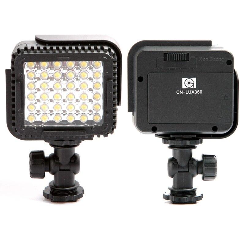 Светодиодная лампа для фото-и видеосъемки Canon, Nikon, 3 шт., 36 светодиодов, 5600K/ 3200K, бесплатная доставка