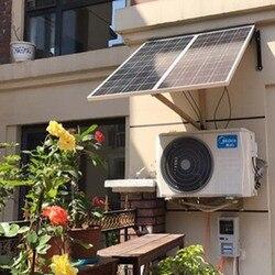لوحة طاقة شمسية 12 v 100 w 3 قطعة جهاز الطاقة الشمسية المنزلية 300 W الشمسية جهاز التحكم في الشحن 12 v/24 v 30A 3 في 1 موصل LED مصباح عربات سكنية سيارة