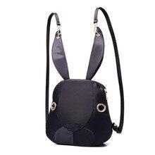 Рюкзак P1Perfect # наблюдается новинка 2016 симпатичная женщина нейлоновая сумка сумки модные кролика бесплатная доставка