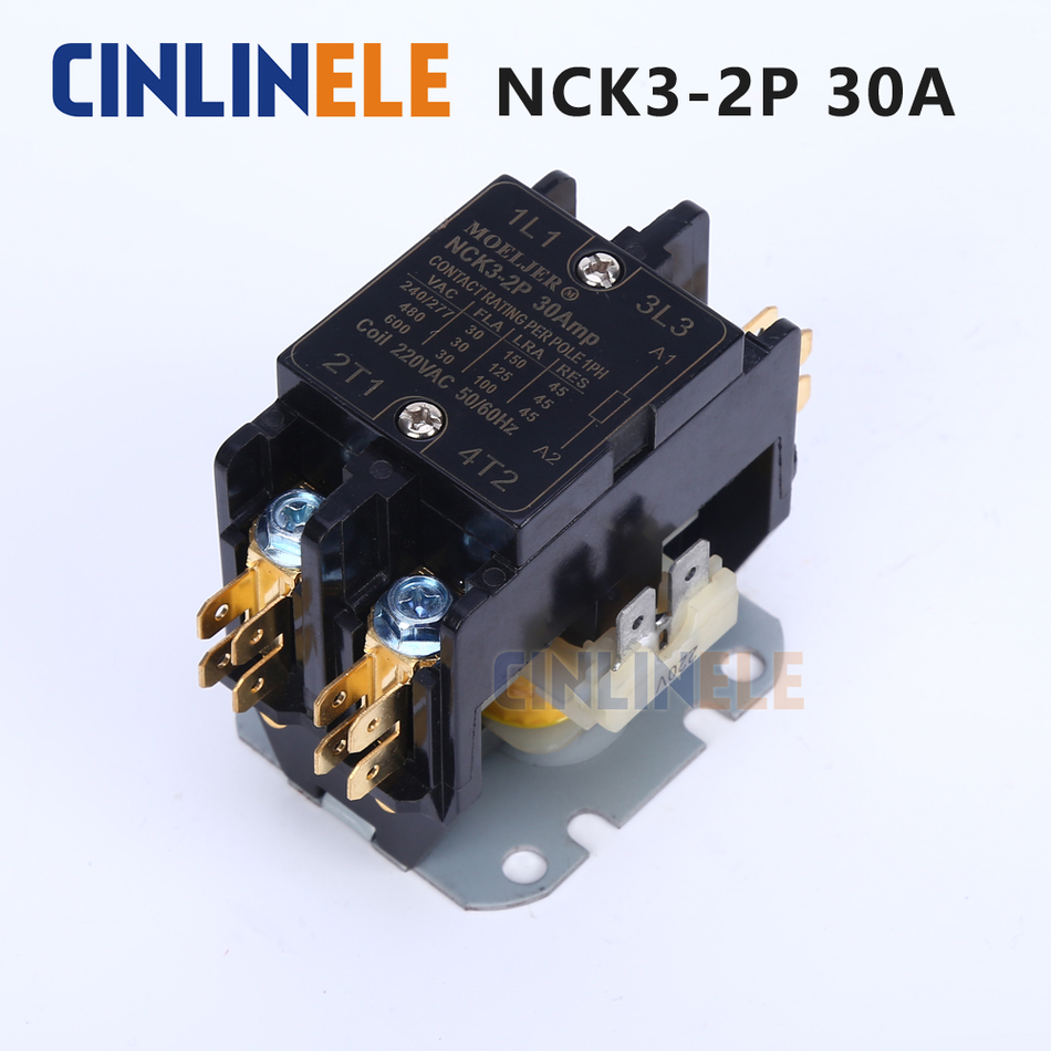 Buy Free Shipping Ac Contactor Of Air Conditioning Capacitor And Wiring Parts Tool 2p 5000w 30a Protector 110v 220v 250v From Reliable