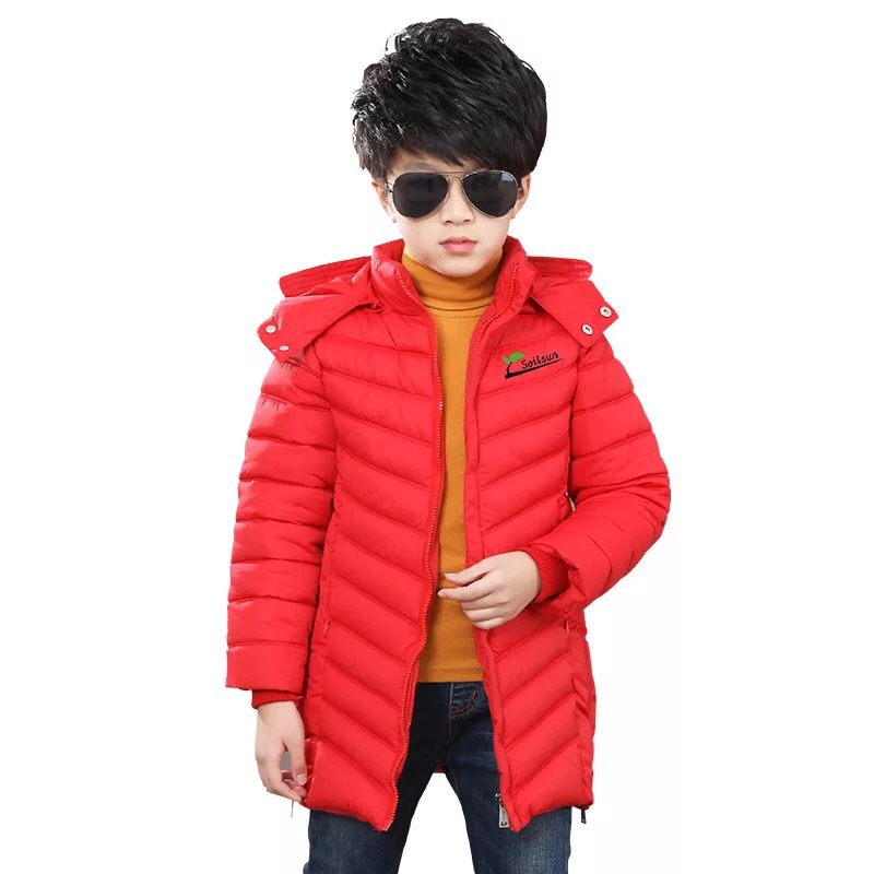 Mioigee 2017 new style children winter jacket Korean style Down & Parkas baby girl winter coat fashion boys down clothes 2017 new authentic baby girl and boy sports style jacket children winter jacket style size 3 6 year old children s thin coat