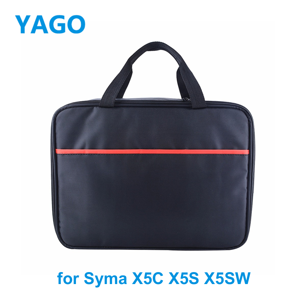 2016 Newest Handbag Backpack Case Bag for Syma X5C X5S X5SW RC drone Quadcopter rc drone bag pu shell waterproof storage bag carry case handbag for dji spark rc drone quadcopter accessories