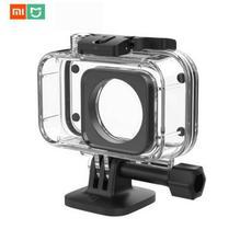 Orijinal Xiaomi Mijia IP68 dalış 40M derinlik su geçirmez koruyucu kılıf kapak spor Mini için Xiaomi dijital kamera 4k
