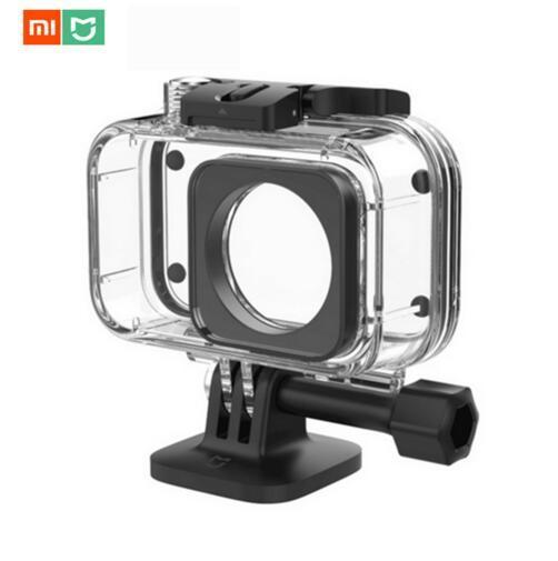 Оригинальный чехол Xiaomi Mijia IP68 для дайвинга, глубина 40 м, водонепроницаемый защитный чехол, чехол, спортивный мини для цифровой камеры Xiaomi 4k