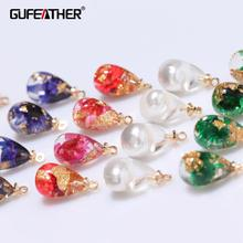 GUFEATHER M345 jewelry accessories jewelry findings charms accessories parts hand made jewelry making diy earrings 6pcs lot cheap CN(Origin) earrings accessories 1 8cm Plastic Fashion Women girls lovers Party Wedding Valentine s Day Gift Christmas Popular romantic classic hip-hop