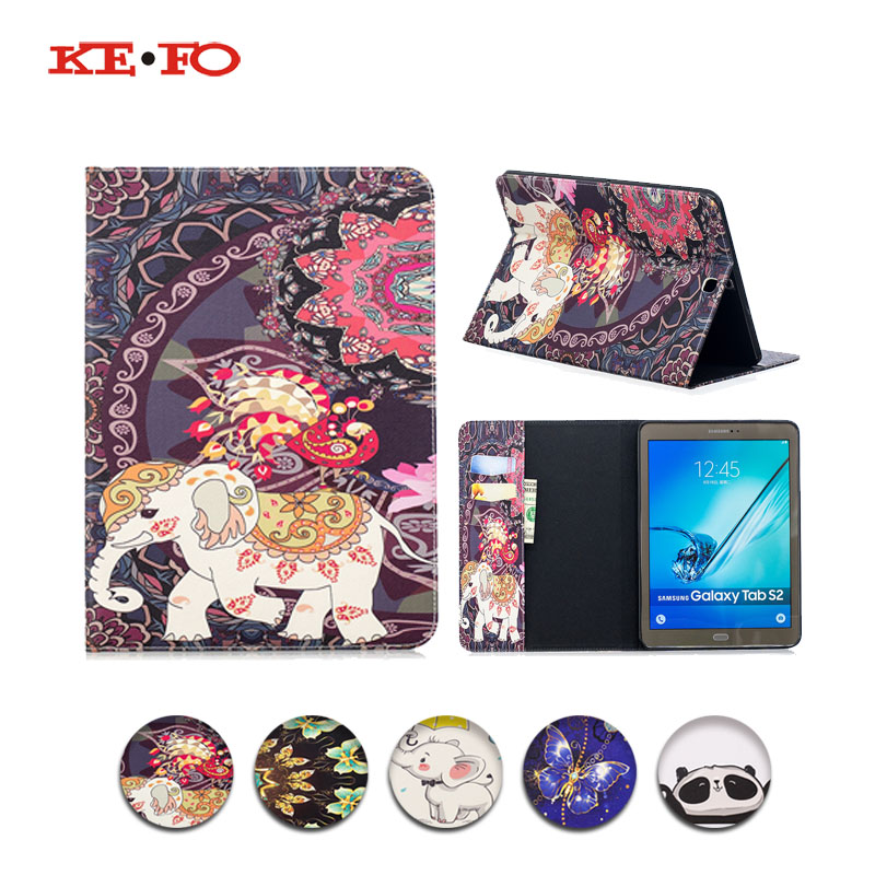 For samsung tab s2 9.7 Case Stand 360 Rotating Leather Case Cover For Samsung Galaxy Tab S2 9.7 T810 SM-T810 T815 T813 SM-T819