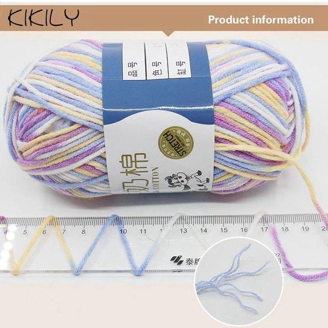 Tienda Online 50g/bola alta calidad caliente DIY algodón leche ...