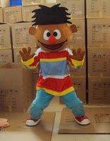 Rue de sésame Ernie mascotte costume Fancy Dress taille Adulte Halloween livraison gratuite