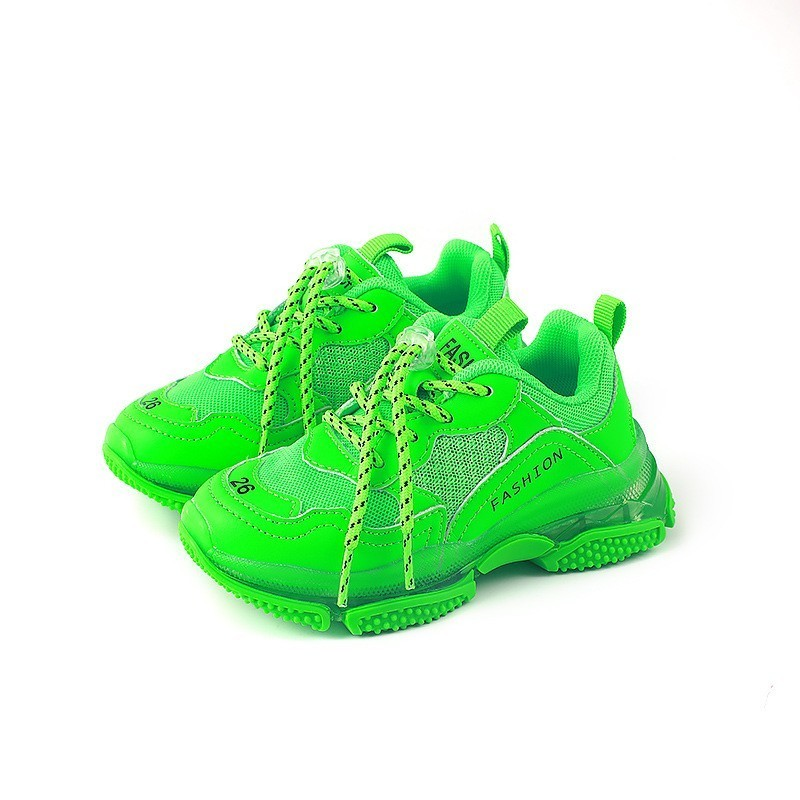 CNFSNJ New Autumn Baby Boys Mesh Shoes Children Fashion Casual Trainer Girls Toddler Brand Sports Sneakers Candy Colors 26-37