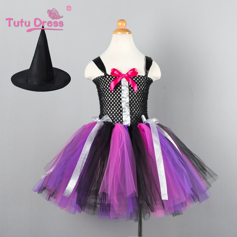 2018 New Girls Tutu Dresses Festival Costume Children Party Prom Clothing 2-10 11 12 Years Kids Halloween Dress muqgew new fashion 2018 children party