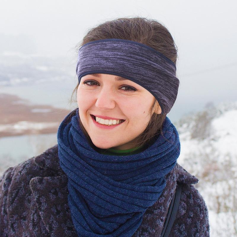 Windproof Ear Warmers Muffs Headband For Men & Women Headwear Head Wrap Hairband Oorwarmers Teenage Student Girl