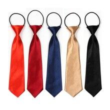 Детские галстуки маленького размера для мальчиков, галстуки для школы, легкие Галстуки для детей