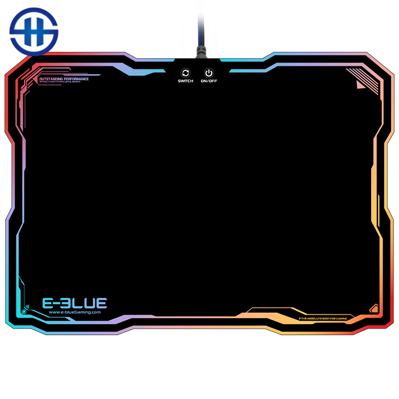 E-3LUE EMP013 Gaming Mouse Pad Gamer Rubber Pad Mousepad Game Keyboardpad RGB Light Lighting