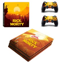 Rick and Morty PS4 Pro Skin Sticker Vinyl Decal
