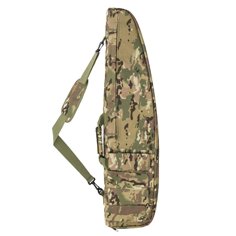 Image 5 - 98cm / 118cm Military Shooting Hunting Rifle Bag Sniper Rifle Gun Case Tactical Gun Bag Outdoor Airsoft Bag Heavy Gun Carry Bag-in Holsters from Sports & Entertainment