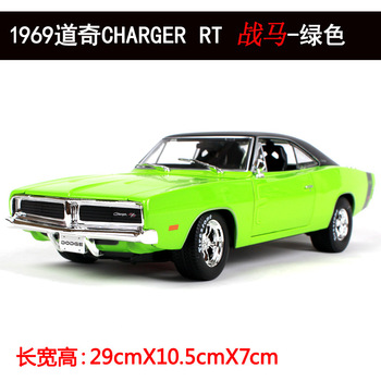 Maisto 1:18 Diecast Metal Car toy Model For Dodge Charger RT 1969 Collection Car Model For Man Gift With Original Box