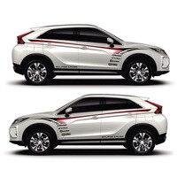 TAIYAO автомобильный Стайлинг спортивный автомобиль наклейка для Mitsubishi ECLIPSE CROSS Pajero Outlander Zinger Eclipse