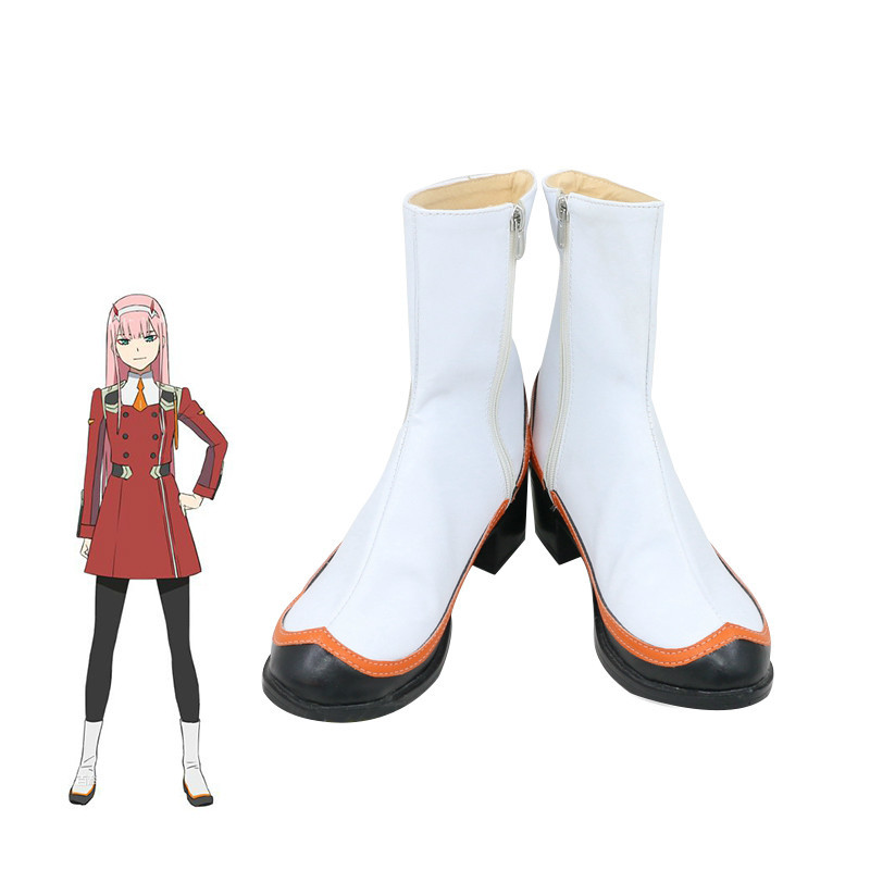 darling in the franxx cosplay ichigo hiro zero two shoes ROLECOS Shoes 02 Boots Women Cos