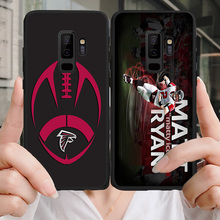 Yinuoda Phone Case For NFL Atlanta Falcons Samsung Galaxy Note4 5 9 A7 A8(2018) A9 Soft TPU Cover Matt Ryan J2Pro J4 J6 J7