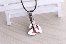 Animation pendant  necklace  Naruto simple design  red alloy jewelry