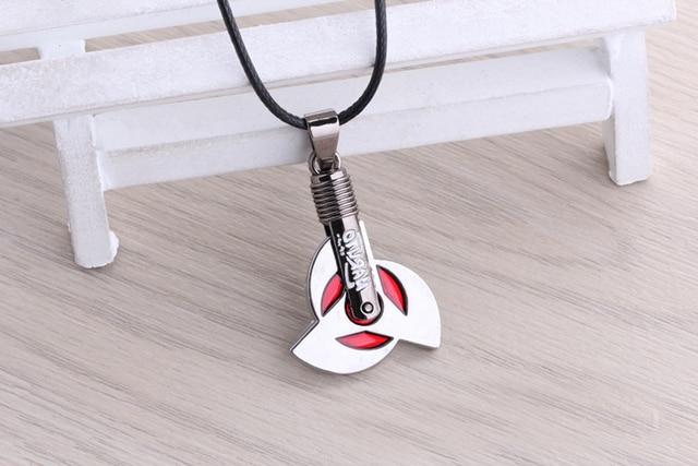 Naruto Red Wheel Chain Pendant