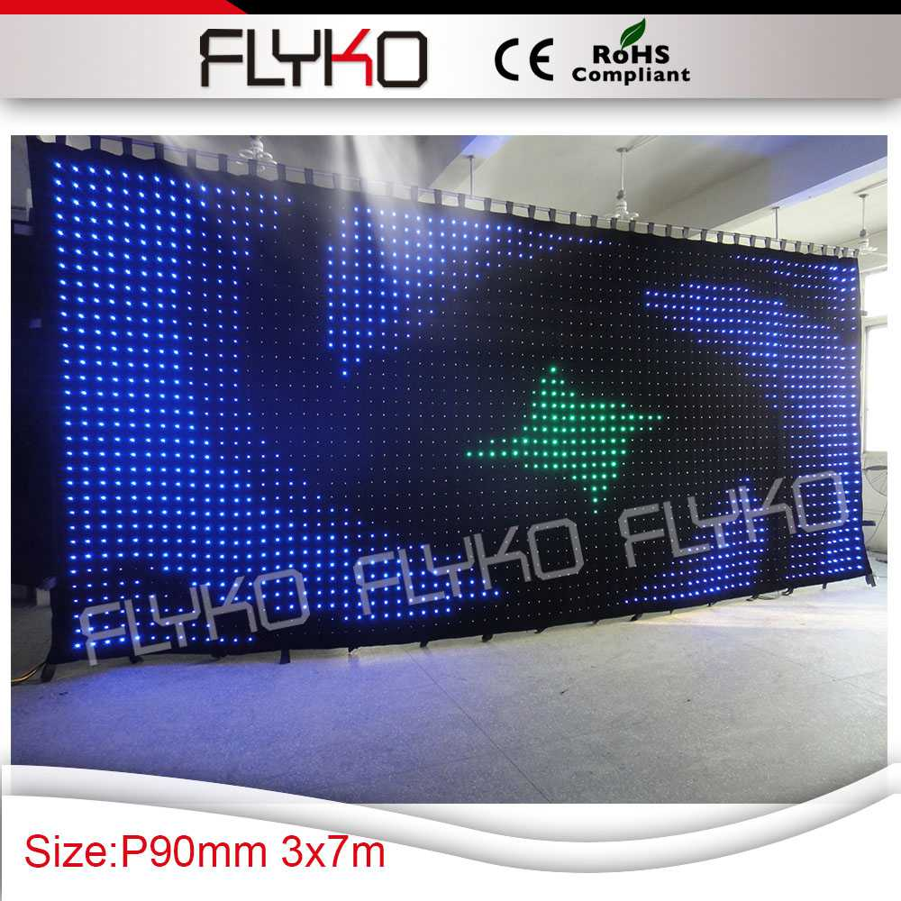 Бесплатная доставка диджея двухслойные стенд Шторы СИД DJ Бут юбка LED DJ фоне Шторы