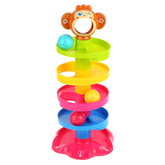 Popular Childrens Toys : Popular baby toys tower d puzzle rolling ball stackers