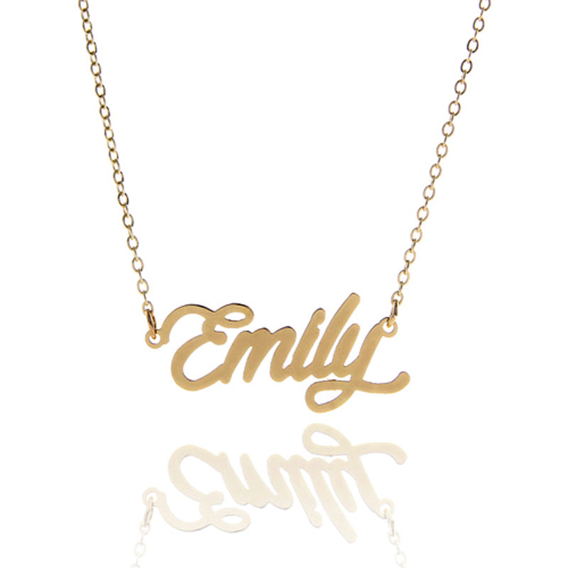 Aliexpress Com Buy Personalized Name Necklace For Women