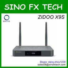 Zidoo x9 android 6.0 tv box realtek rtd1295 2g/16g bluetooth4.0 dual band wifi(China (Mainland))
