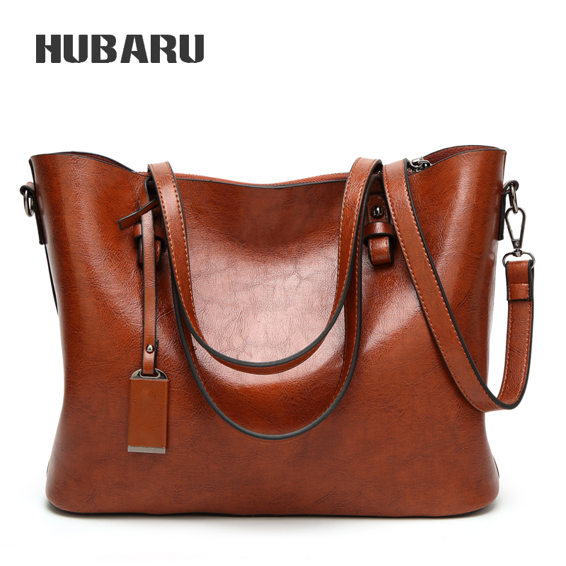 HUBARU Women Designer Handbag Women Messenger Bag Designer Crossbody Bag Ladies Big Size Tote Female Shoulder Bag High Quality