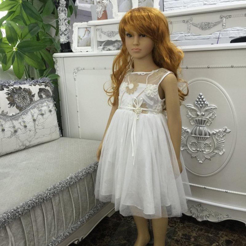 Гламурное платье для девочки