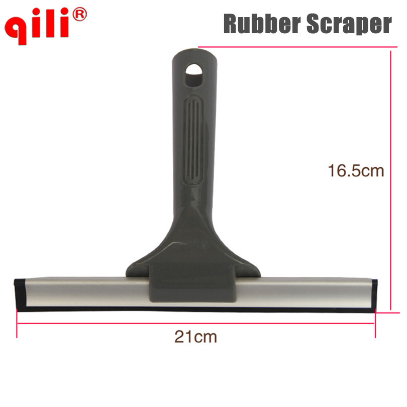 Rubber Car Vehicle glass scraper blades Windshield Window Wash Cleaning tools cleaner brush auto Care products