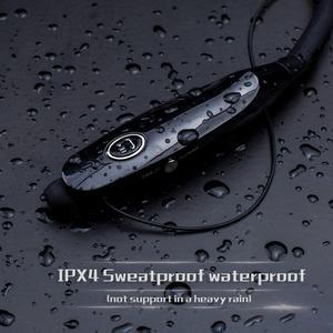 Image 5 - スポーツbluetoothイヤ14時bluetoothヘッドセットの音楽ヘッドフォンハンネックバンドイヤフォンxiaomi iphone 7