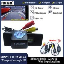 Fuwayda Беспроводной Sony CCD чип Автомобильная камера заднего вида для Nissan Qashqai X-Trail Geniss Citroen C4 C5 Dualis peugeot 307cc