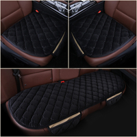 Encell 3 Pcs Universal Car Styling Interior Accessories Sedans Car Seat Covers Set For Car Care