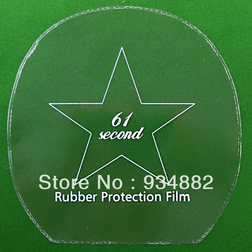 12 Pcs 61second Table Tennis (Ping Pong) Rubber Protection Film