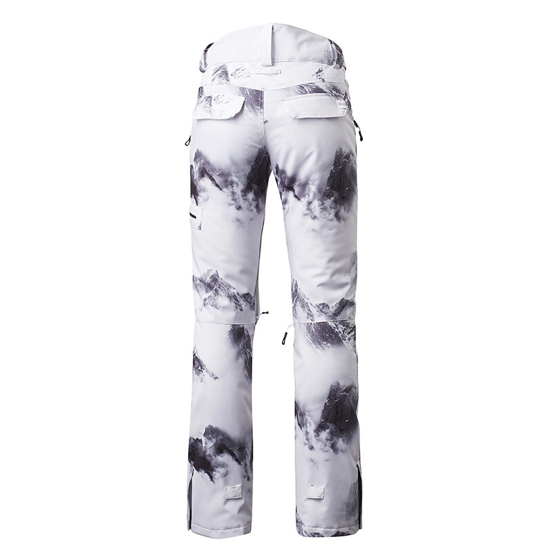 Winter snowboard pants for women thicken female ski pants woman snow trousers thermal waterproof skiing new brand women men winter snowboard pants outdoor snow thermal pants thicken warmth ski trousers waterproof windproof clothing