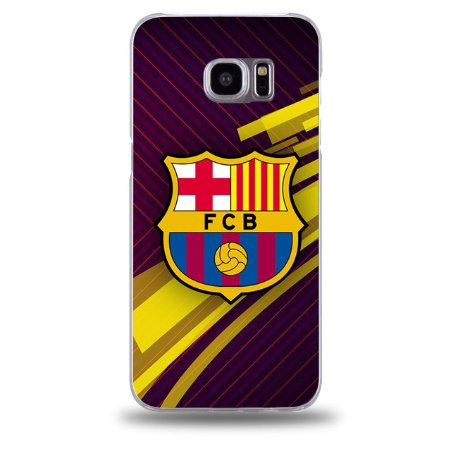 Barcelona Jersey 2017 phone cover for Samsung galaxy s7 edge case transparent hard plastic phone bag case for Samsung s6 s7