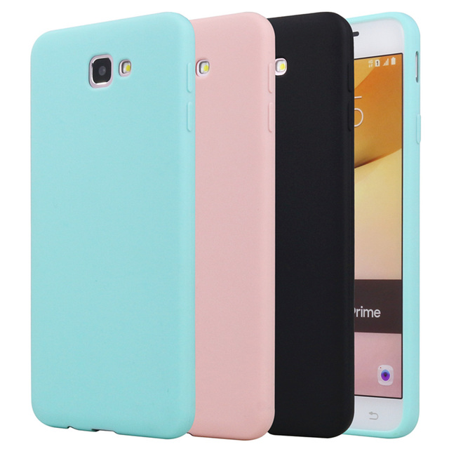 buy online 4a257 eee5d US $1.99 |Silicone Case For Samsung Galaxy J7 Prime 2016 2015 Phone Bag  Case Rubber Candy Colors Back Cover For Samsung Galaxy J7 Prime-in Fitted  ...