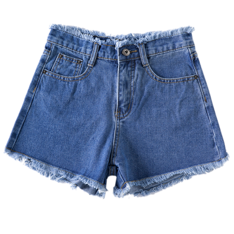 S-6XL Plus big size Jeans Summer   shorts   female loose wild jean   shorts   2018 summer New Hot fashion Denim   Shorts   Women